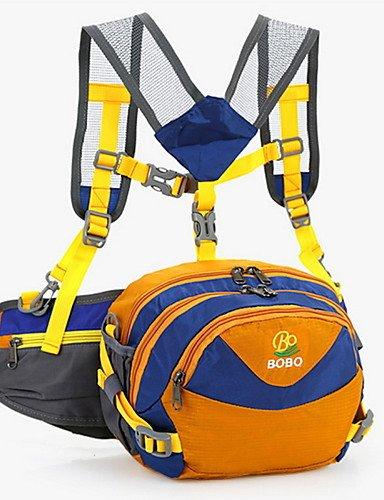 HWB/ 20L L Gürteltasche Camping & Wandern / Klettern Draußen Feuchtigkeitsundurchlässig / tragbar / Multifunktions Gelb / Grün / Rot / Blau Yellow