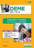 DEME - Domaines de compétences 1 à 4 - Préparation complète pour réussir sa formation - Diplôme d'État de Moniteur-éducateur