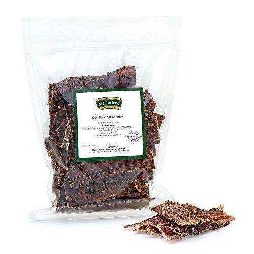 Masterfeed Cecina de Cuello de Ternera - para Perros - 100% Natural Tamaño 250 g
