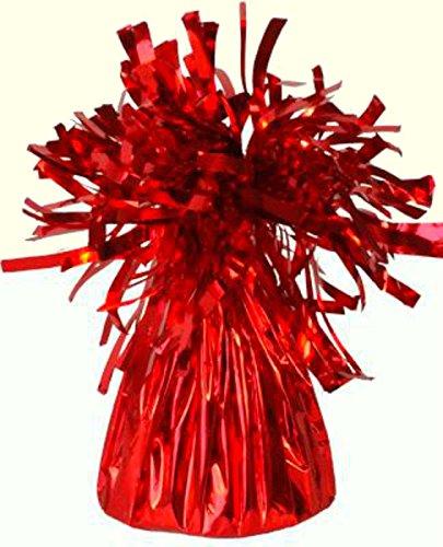 6x rot Volcano/Füllfederhalter Form Folie Ballon Gewicht für Helium & Latex Luftballons