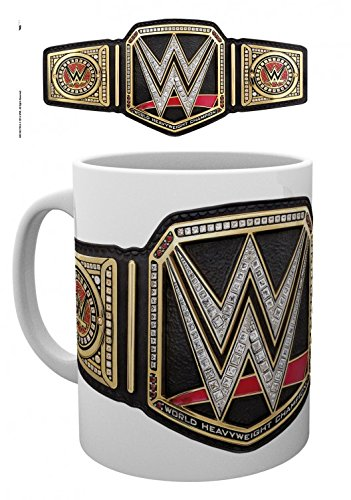 Wrestling - WWE, Title Belt Tazza Da Caffè Mug (9 x 8cm)