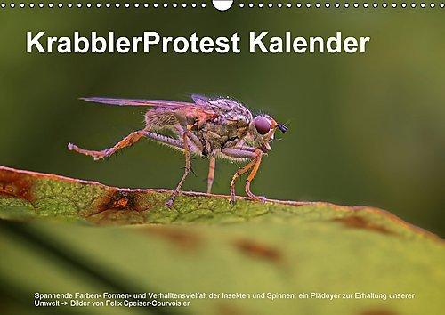 krabblerprotest-kalender-wandkalender-2017-din-a3-quer-vielfaltige-und-faszinierende-insekten-und-sp
