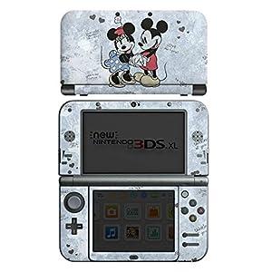 Skin kompatibel mit Nintendo New 3DS XL Aufkleber Sticker Folie Disney Minnie & Mickey Mouse Merchandise Geschenke