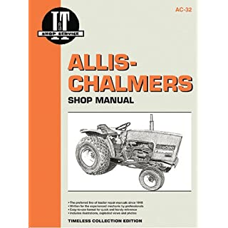 ALLIS-CHALMERS MDLS 5020 5030 (I & T Shop Service Manuals)