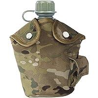 Mil-Tec - Borraccia esercito americano, con bicchiere e custodia