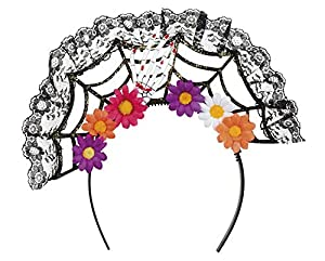 Boland 97063pelo maduro la Flora Day of the Dead, mujer, multicolor