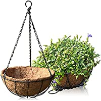 Namgiy Cadena colgante para colgar plantas, cesta, cadena de maceta, cadena para decoración de plantas en el hogar, jardín, 50 cm