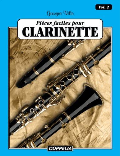 25 pièces faciles pour Clarinette/ Clarinet easy pieces vol. 2