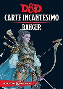 Asmodee Italia- Dungeons & Dragons 5a Edición Tarjeta Incantesimo Ranger, Color 4010