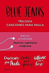 Trilogía Canciones para Paula par Blue Jeans