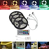 MASUNN 15 M Smd5050 Wasserdicht RGB 450 LED Strip Tape Light Kit + 44 Tasten Controller + Cable Connector DC12V