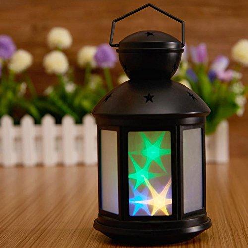 JAYLONG LED Lampe pour Enfants Night Light Étoiles et Phare Portable Bouton Commutateur Contrôle Art Lumières pour Nuit Lumière Bébé Enfants Adultes pour Bébé Chambre Pépinière Cadeau D'anniversaire , B