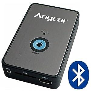 Anycar Adaptateur Usb Sd Aux Mp3 Et Syst 232 Me Mains Libres