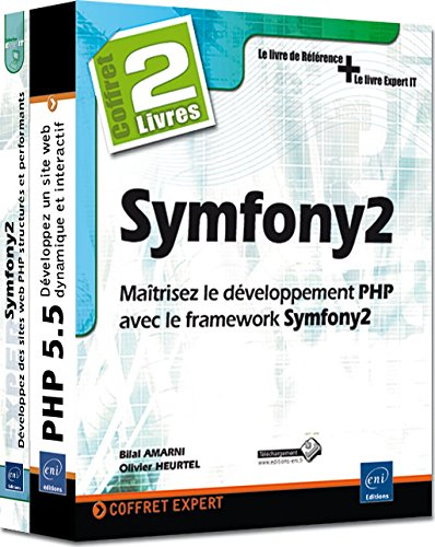 Symfony2 - Coffret de 2 livres : Matrisez le dveloppement PHP avec le framework Symfony2