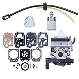Haishine Carburatore Carb Rebuild Kit di Riparazione per Honda GX35 GX 35 HHT35 HHT35S Gas Trimmer Decespugliatore Strimmer Generator 16100-Z0Z-034