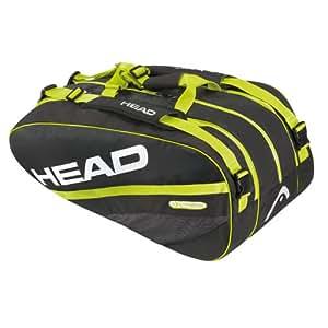 Head Extreme 283593 Monstercombi Sac de Tennis-Noir/Vert