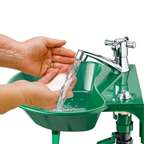 Grifo para fregadero Al aire libre - integrado potable agua fuente