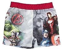 Boys Avengers Swim Shorts Red 6 Years