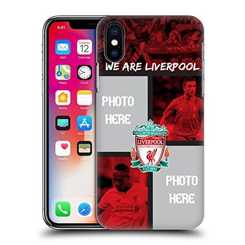Personalizzata Personale Liverpool Football Club Gol Rosso Liverpool FC Cover Retro Rigida per Apple iPhone X We Are Liverpool
