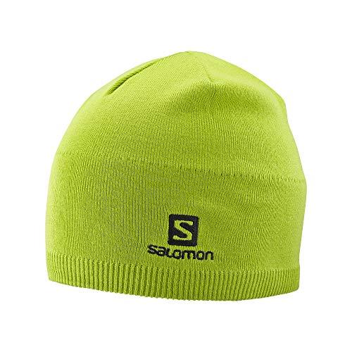 Salomon Beanie, Lime Green, OSFA