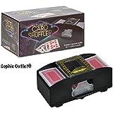 Batterie automatique à poker Casino One deux Deck Mélangeur de cartes Tri Shuffle