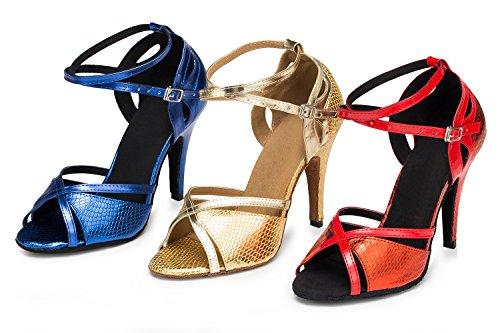 Miyoopark ,  Damen Tanzschuhe Gold-10cm heel