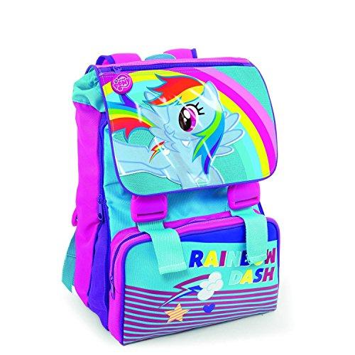 Cartoon Schulrucksack Kinderrucksack My Little Pony Rainbow Dash blau-pink (Dash Cartoon Rainbow)