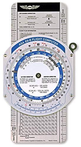 ASA¡®s Color E6B Flight Computer