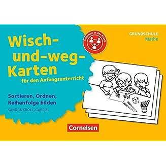 Wisch-und weg-Karten für den Anfangsunterricht