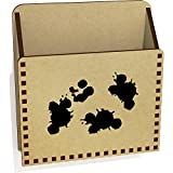Azeeda 'Farbspritzer' Hölzern Brief Halter / Box (LH00021275)