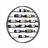 QRFDIAN Wand-Weinregal Weinglas Halter Weinregal Dekoration hängend Weinregal Weinregal Weinschrank Restaurant Wand Weingitter