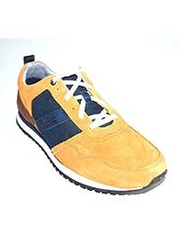 Timberland - Zapatos de Cordones de Piel para Hombre Naranja Naranja