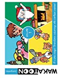 Wakatoon animated coloring storybooks - Vol.1: 3 coloring stories in 1: Volume 1 (Wakatoon Storybooks)