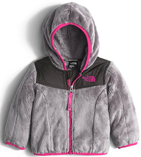 Face The North 3m (The North Face Girls Girls' Oso Hoodie, 3M, Grey)
