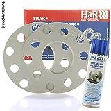 H&R DR Spurplatten Spurverbreiterung Distanzscheibe 5x100 10mm // 2x5mm + Bremsenreiniger