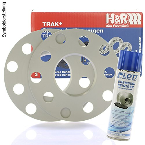 Preisvergleich Produktbild H&R DR Spurplatten Spurverbreiterung Distanzscheibe 4x100mm 16mm / / 2x8mm + Bremsenreiniger