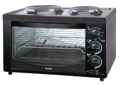 Orava EC-320 Independiente Hornillo eléctrico/Placa eléctrica Negro - Cocina (Cocina independiente, Negro, Giratorio, Hornillo eléctrico/Placa eléctrica, Pequeño, Medio)