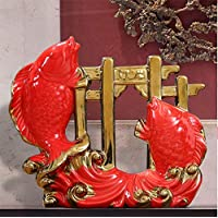 WDDqzf Adornos Escultura Figurilla Estatuas Bendición Adornos Modernos Nuevos Chinos Sala De Estar Gabinete De Vino