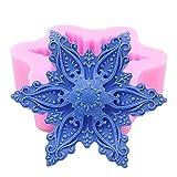 Soap mold (Snowflake01)