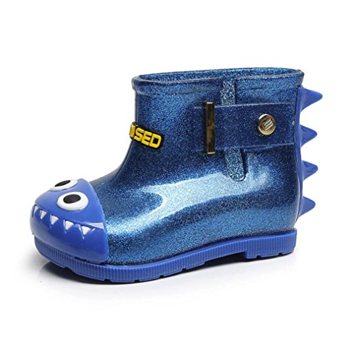 VNEIRW_Baby Rain Boots Kids Baby,VNEIRW Cartoon Shark Design Anti-Slip Rubber Boys Girls Rain Shoes Wellies