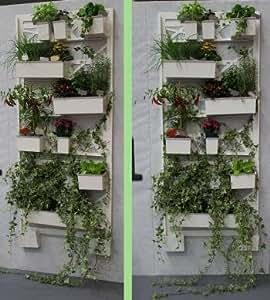 Orto verticale per balcone elite pannello a muro for Giardino verticale balcone