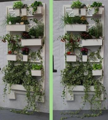 Come fare un orto verticale sul balcone foto e istruzioni for Vasi per balcone
