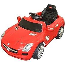 6V, 800mA Mercedes Benz SLS Coche Eléctrico para niños auto Infantil Juguete (Rojo)