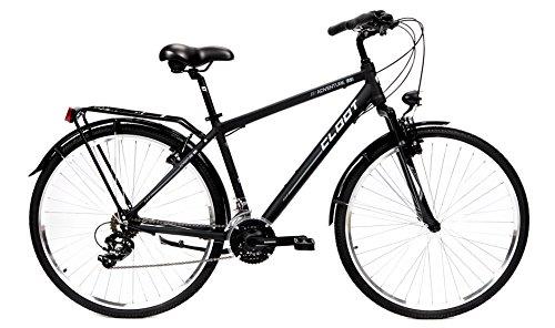 CLOOT Bicicleta Hibrida-Bicicleta Trekking Adventure 7.1 Cuadro Aluminio 6061 con Horquilla 50mm y Cambio Shimano 21V