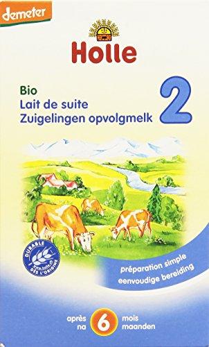 Holle Lait de Suite 2ème Age Biologique pour bébé 2 x 300 g