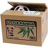LATH.PIN Tirelire Boite Epargne Economie Argent Piece Monnaie Animal Mignon Volent L'argent (Panda)