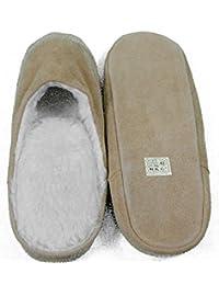 BOOM IT - Zapatillas de estar por casa de Piel para hombre 52