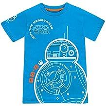 Star Wars - Camiseta de manga corta - La Guerra de las Galaxias - para niño