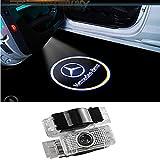 ZNYSTAR Car LED Lampe der lampe der Tür Ghost Shadow Willkommen Licht Kit (Benz W203)