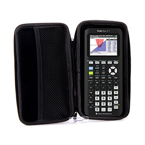 SafeCase Schutztasche für Taschenrechner und Grafikrechner von Texas Instruments, für Modell: TI 84 Plus CE-T